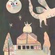 La niña que piaba. A Children's Illustration, and Narrative project by Nuria Mel. - 10.19.2020