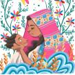 Madre. Un proyecto de Ilustración, Ilustración textil e Ilustración infantil de Jimena S. Sarquiz - 01.01.2019