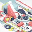 Imagen Colombiamoda 2018. Un proyecto de 3D, Moda, Diseño gráfico, Animación 3D y Modelado 3D de Estudio Agite - 28.07.2018