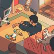 El Rapper del Momento. Un proyecto de Ilustración, Animación, Dirección de arte y Animación 2D de Estudio Agite - 23.10.2020
