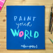 Paint your world. Mi proyecto final de curso. A Illustration, and Street Art project by Maru Godas - 10.27.2020