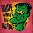 Dude, where's my brain?. A Concept Art project by Ed Vill - 10.28.2020