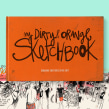 My dirty and orange Sketchbook (2016-2017). A Illustration, and Street Art project by Maru Godas - 11.03.2020