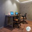SketchUp e V-Ray - Mesa escritório home office. A 3-D, Möbeldesign, Innenarchitektur, Innendesign, 3-D-Modellierung und 3-D-Design project by Guilherme Coblinski Tavares - 04.11.2020