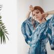 VESTIDO NATURA KIMONO MAXIMANGA TEXTURA . Um projeto de Design e Design de moda de Natalia Londoño - 01.06.2018