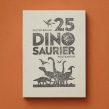 25 dinosaur card box set. A Illustration, and Children's Illustration project by Dieter Braun - 11.11.2020