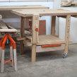 banco de carpintero con soporte para maquinas y escuadrdora. Un projet de Charpenterie de Juan Manuel Rossi - 18.11.2020
