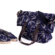 Tejido para bolsón y alpargatas de la marca PeSeta. A Crafts, Fashion, Screen-printing, and Pattern Design project by Ana Escalera Moura - 11.24.2015