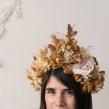 Mi Proyecto del curso: Tocado floral. Um projeto de Design de Violeta Gladstone - 27.11.2020