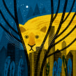 The New York Times, El paseo del puma, EEUU 2019. A Illustration, and Editorial Illustration project by Paloma Valdivia - 11.30.2020