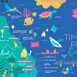 Ferment Magazine Maps 2020. A Illustration, Digital illustration, and Editorial Illustration project by Melanie Chadwick - 12.02.2020