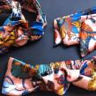 Knotted headbands from 2020.. Um projeto de Artesanato, Design de moda, Design de moda e Fotografia de moda de Mia Winston-Hart - 01.12.2020