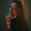 Retratos con proyector como recurso de iluminación.. Un proyecto de Fotografía de retrato y Fotografía artística de Aaron Walls - 02.11.2019