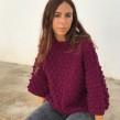 Tristaina Sweater SP para WAK. A Fashion, and Fiber Arts project by Estefa González - 09.13.2018