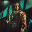 Cyberpunk 2077. A Portrait photograph, and Photomontage project by sergioinstanto - 12.17.2020