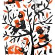Efemerides secretas- publicacion artesanal. Un proyecto de Ilustración, Diseño editorial, Serigrafía e Illustración editorial de Mariana Ruiz Johnson - 22.12.2020