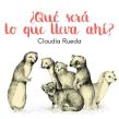 ¿Qué será lo que lleva ahí?. A Children's Illustration project by Claudia Rueda - 12.28.2016