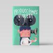 Producciones Violeta / Castillo. A Illustration, Digital illustration, and Children's Illustration project by Bruno Valasse - 05.01.2018