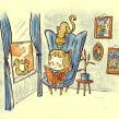 Hi, can i hear that story too?. A Illustration, Design von Figuren, Bleistiftzeichnung, Zeichnung, Digitale Illustration, Kinderillustration und Digitale Zeichnung project by Ed Vill - 08.01.2021