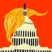 Trump. Un proyecto de Redes Sociales, Ilustración digital e Instagram de Emma Hanquist - 07.01.2021