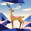 King of the Hill . Un proyecto de Ilustración, Ilustración vectorial, Ilustración digital, Dibujo digital e Ilustración naturalista de Pietari Posti / Studio Posti - 14.01.2021