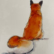 Loose watercolour fox. A Watercolor Painting project by Sarah Stokes - 02.20.2021