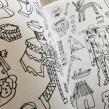 Cosas que no me pude comprar - Macolen. A Drawing, and Editorial Illustration project by Catalina Bu - 12.10.2017
