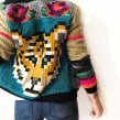 chaqueta de tigre floreado. A Crafts project by Ignacia Jullian - 03.21.2021