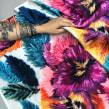 Diseño textil. A Crafts project by Ignacia Jullian - 03.21.2021