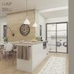 Nuevos proyectos de diseño de cocinas. A 3D, Interior Design, 3d modeling, Decoration & Interior Decoration project by Alexandra Proaño Gonzales - 04.03.2021
