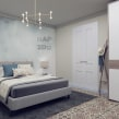 Apartamento en Barcelona. Un projet de 3D, Design d'intérieur, Modélisation 3D, Décoration d'intérieur, Conception 3D , et Design d'intérieur de Alexandra Proaño Gonzales - 03.04.2021