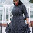 Simple Black Dress. Un proyecto de Costura de Juliet Uzor - 07.04.2021