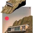 Casa Montañita. Un proyecto de 3D, Arquitectura, Ilustración digital y Diseño digital de Fernando Neyra Moreta - 10.04.2021