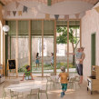 Kindergarten en Poblenou, Barcelona. A Architecture, Interior Architecture, Architectural illustration, and ArchVIZ project by architectureonpaper - 04.10.2021