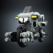 Modelado moto anime retro. Un proyecto de Modelado 3D de Diego Fernández - 11.04.2021