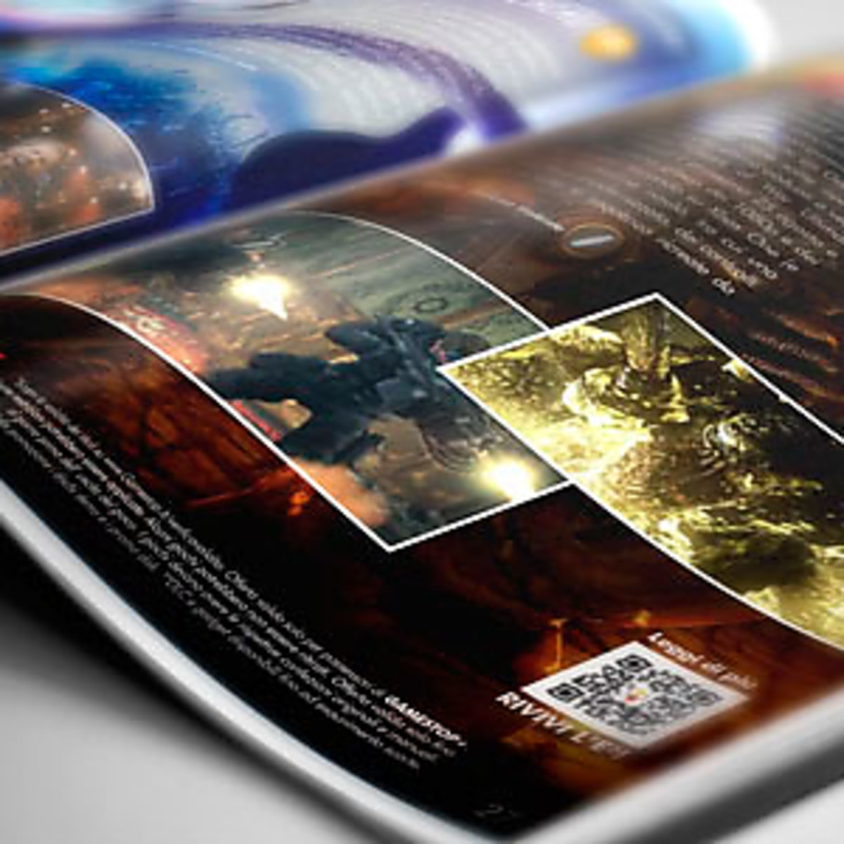GameStop Magazine | Domestika