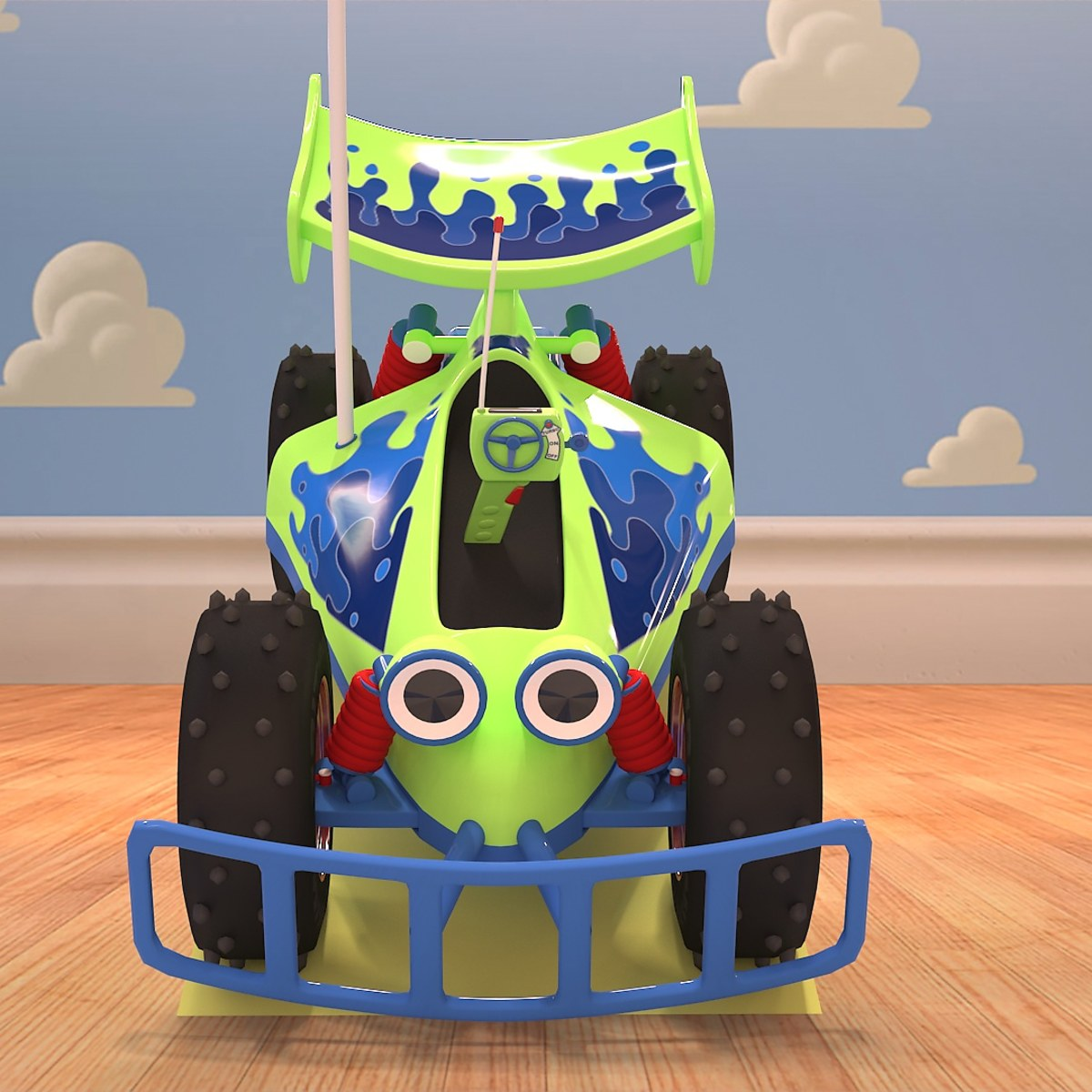 R C  Car de Toy Story | Domestika