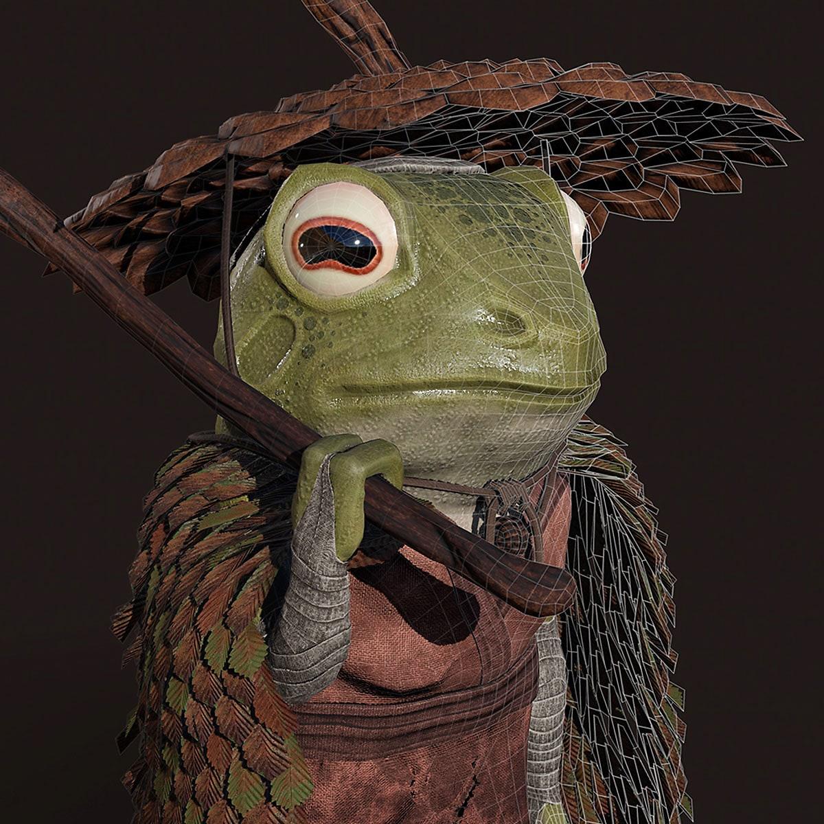 Samurai Frog Domestika