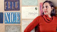 Les secrets dorés du lettering. Un cours de Calligraphie , et Typographie de Martina Flor