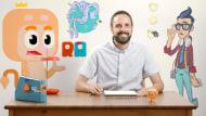 Animação de logotipos e aberturas. Um curso de 3D e Animação de Rubén García