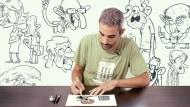Humour graphique pour débutants. Un cours de Illustration de Raúl Salazar