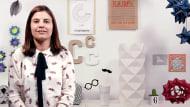 Création de lampes origami en papier. Un cours de Craft de Estela Moreno Orteso