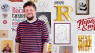Desenho de uma tipografia digital de AaZ. Um curso de Caligrafia e Tipografia de Juanjo López