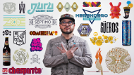Tipografia e concepção de marca: desenho de um logotipo icônico. Um curso de Design de Quique Ollervides
