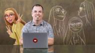 Rigging: articolazione della mimica facciale di un personaggio 3D. Un corso di 3D , e Animazione di Iker J. de los Mozos