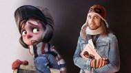 Creación de personajes: del 2D al 3D . Un curso de 3D y Animación de Matias Zadicoff