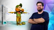 Introduction to Rigging for Animation. A 3D, and Animation course by Jose Antonio Martin Martin