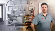 Criação de cenários CGI em miniatura. Um curso de 3D, Animação, Arquitetura e Espaços de Javier Leon
