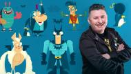 Diseño e ilustración de personajes increíbles. Un curso de Ilustración de Christian Michel