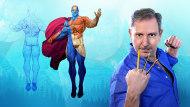 Ilustración para cómics: anatomía de un superhéroe. Un curso de Ilustración de Ariel Olivetti